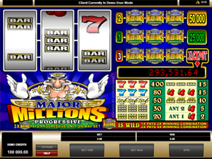 Major Millions (3-Reel) screenshot