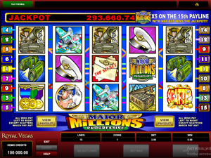 Major Millions (5-Reel) screenshot